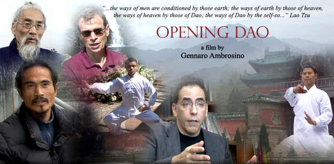 Opening Dao - Cover - a Film by Gennaro Ambrosino