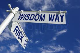 Wisdom way and risk street images